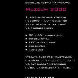 3D Skenování na výstavě MUZEUM 3000