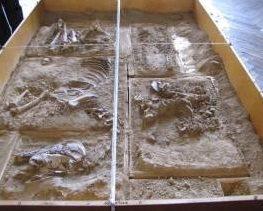 Hrob jezdce z Čelákovic-Záluží