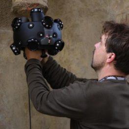 Výuka metody 3D skenování na hradě