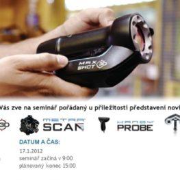 Seminář 3D skenování - NOVINKY pro rok 2012