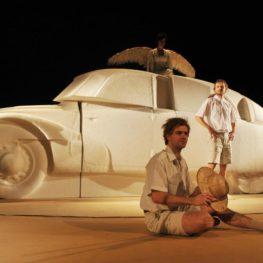 Skenování tatry T87 pro divadelní inscenaci