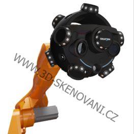 MetraSCAN 3D-R (Robotem ovládaný optický CMM 3D skener)