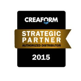3D SCAN získal ocenění CREAFORM Strategic Partner pro rok 2015