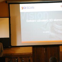 Setkání uživatelů 3D skenování 2015 - Dalešice