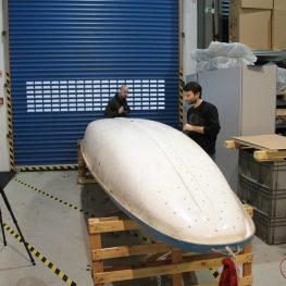 Skenování skautské lodi P550
