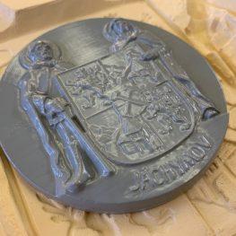 3D skenování znaku města Jáchymov