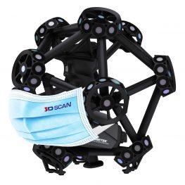 COVID-19: provoz 3D skenování
