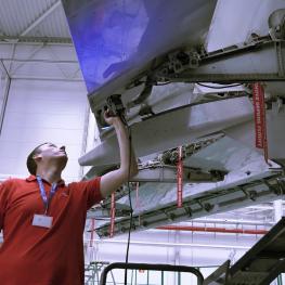 3D skenování v leteckém průmyslu