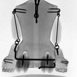CT skenování loutky