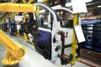 MetraSCAN 3D-R_Pneumatic_Car door production line