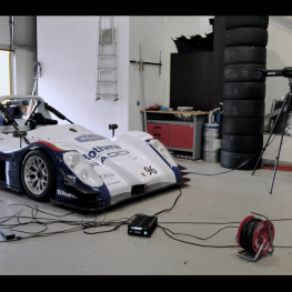Skenování závodní formule