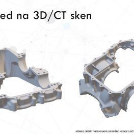 Předvedení 3D skenování na míru